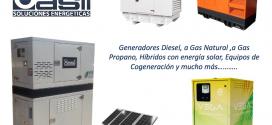 En 2017 Grupo Casli amplía la gama de generadores Diesel hasta las 800 kVA, con los nuevos motores de la marca Coreana DOOSAN.