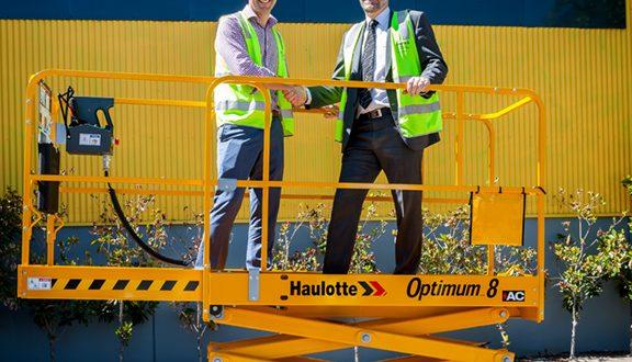 La máquina número 1000 de Haulotte, marca de alta seguridad y eficiencia