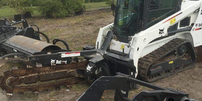 Uno de los últimos trabajos difíciles de 2016 de la Bobcat® T450