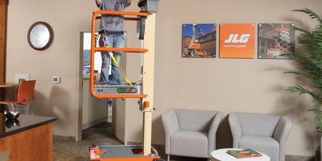 La Ecolift de JLG,  ganó el premio ALH por su diseño innovador y versátil
