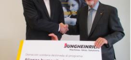 #Jungheinrich apoya la Alianza para la Alimentación Infantil de la #Cruz Roja