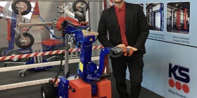 #Spain Crane nos presenta el nuevo Robot Ks 350
