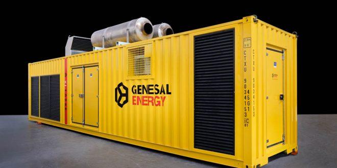 #Grupo electrógeno #Genesal #Energy para central de ciclo combinado en México