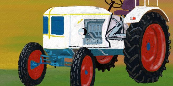 La evolución de la #maquinaria #agrícola, los #tractores