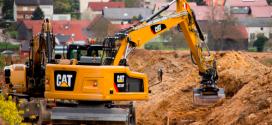 Nueva Gama de Excavadoras de Ruedas #Cat® Serie F