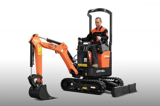 Mini excavator DX10z-Studio