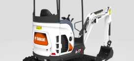 Nueva excavadora E17Z con giro de voladizo cero  de #Bobcat