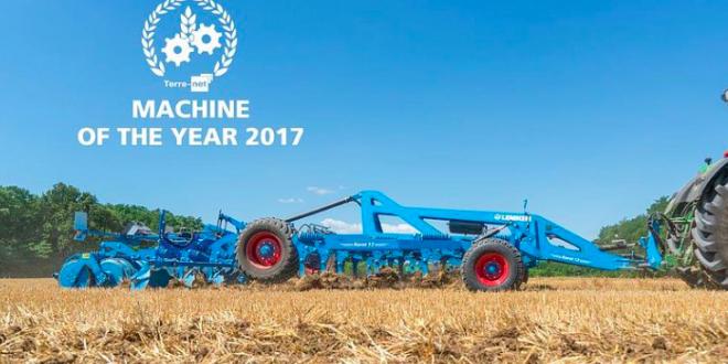 La cultivadora Karat 12 de #LEMKEN  galardonada Máquina del año 2017