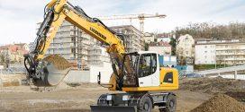 #Liebherr presentará en la feria #Smopyc 2017 la excavadora sobre neumáticos A 918 Litronic