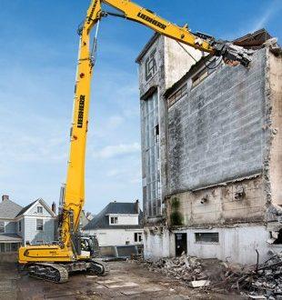 Nueva excavadora sobre cadenas #Liebherr R 960 Demolition en #Smopyc