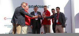 #Manitowoc Cranes homenajeaa Matebat y Arcomet con ceremonia en #CONEXPO2017