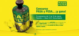"""#MANN-FILTER reta nuevamente a los talleres en Motortec con el concurso """"PASA y PESA"""""""
