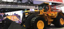 La cargadora de ruedas más grande de #Volvo debutaen#Conexpo
