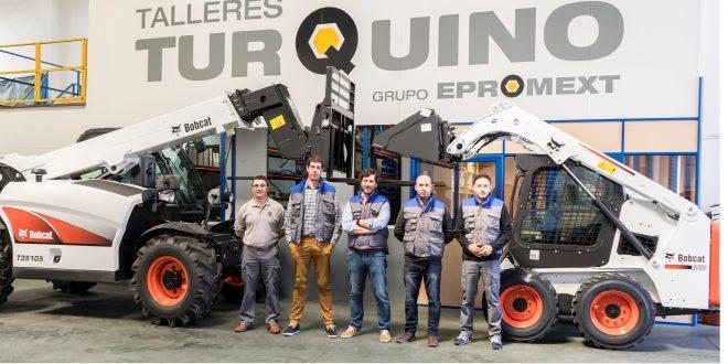 #Bobcat nombra nuevo distribuidor en Galicia, Talleres Turquino
