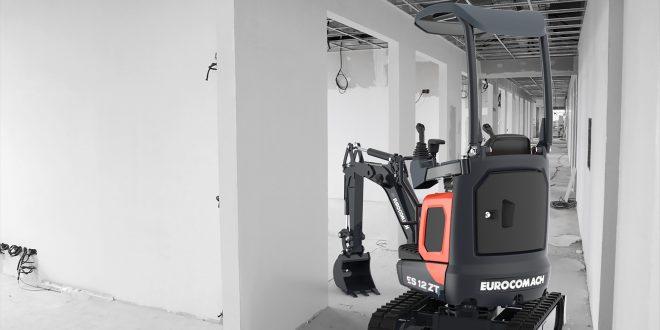 #Eurocomach expondrá en #SMOPYC la nueva mini excavadora ES 12 ZT4