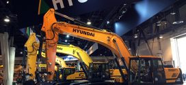 #Hyundai Heavy Industries  en #Conexpo