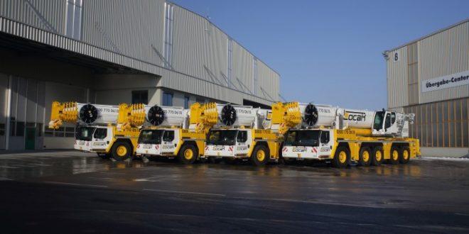 LOCAR actualiza su flota  con 4 nuevas grúas móviles #Liebherr LTM 1250-5.1
