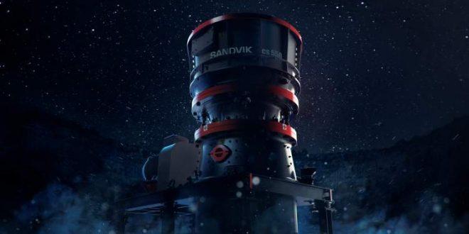 #Sandvik lanza una potente trituradora de etapa secundaria