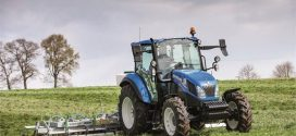 New Holland presenta los tractores T5 Utility en Grassland y Muck