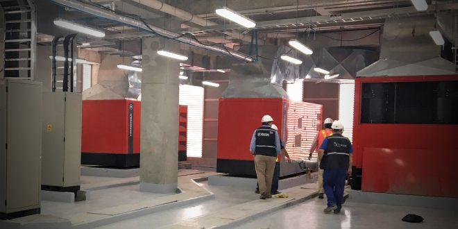 #HIMOINSA suministra 12 grupos electrógenos para el nuevo hospital de Guayaquil