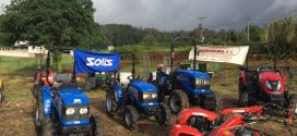 #Agrivama celebra San Isidro con los tractores #Solis en Rois