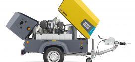 El nuevo y versátil compresor transportable de Atlas Copco