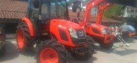 Los tractores #Kioti presentes en la feria de Vera de Bidasoa
