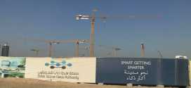 NFT suministra grúas Potain al nuevo centro tecnológico de Oriente Medio