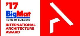 #BIGMAT prolonga el plazo de inscripción del Gran Premio Arquitectura Internacional BIGMAT 2017