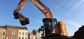 La CASE CX245D SR convence a su primer cliente en Bélgica