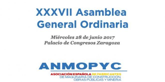 ANMOPYC celebrará su 37ª Asamblea General