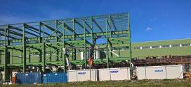 HUNE en la ampliación de las instalaciones de Saica en Zaragoza