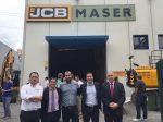 noticias-maquinaria-Equipo de MASER y JCB
