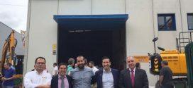 MASER, nuevo distribuidor de JCB en el País Vasco y Cantabria, inaugura sus instalaciones en Amorebieta
