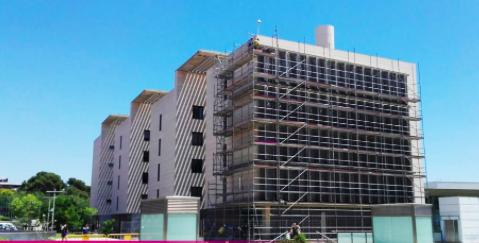 Restauración de la fachada de la UPC con ALCO Grupo