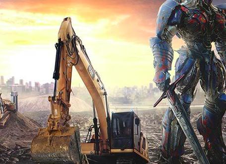 La Excavadora Cat En La Nueva Película Transformers Noticias