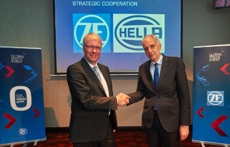 HELLA y ZF conforman una alianza estratégica para el desarrollo de tecnologías de sensores