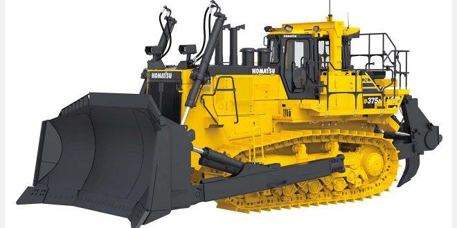 Komatsu Europe presenta el nuevo Bulldozer D375A-8