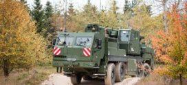Liebherr suministra  grúas móviles y grúas de salvamento protegidas a las Fuerzas Armadas Alemanas
