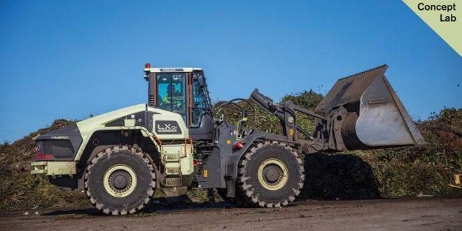 La cargadora híbrida eléctrica híbrida LX1 de Volvo Construction Equipment ha sobresalido