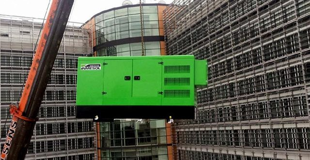 Energía INMESOL en la sede central de la Comisión Europea