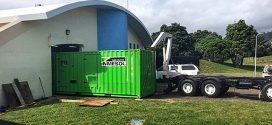Grupo electrógeno INMESOL en una estación de bombeo de aguas residuales, en NUEVA ZELANDA