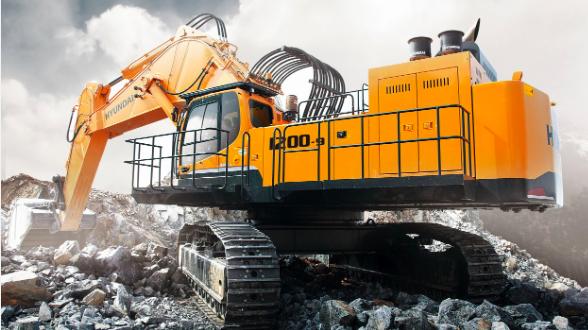 Primera excavadora Hyundai de 120 tn en el mayor proyecto de demolición de Europa