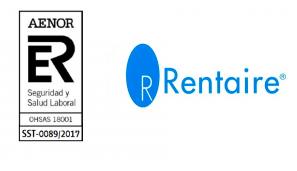 Certificación OHSAS 18001 para Rentaire