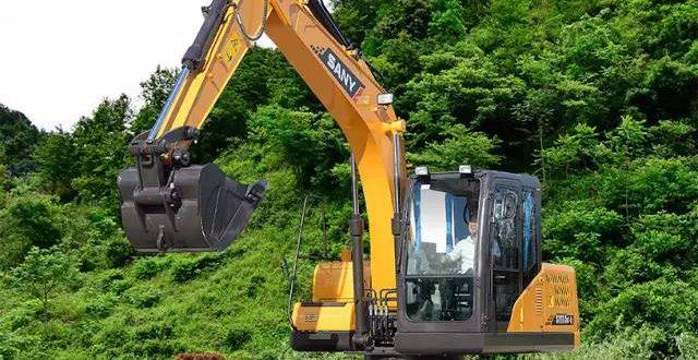 Sany lidera el mercado de excavadoras en China