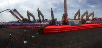 "SANY apoya el proyecto ""Malasia East Coast Rail Link"""