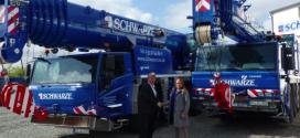 Schwarze-ASC compra las grúas TADANO ATF 70G-4 y ATF 220G-5