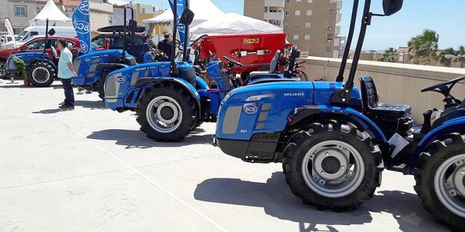 El tractor para invernadero de BCS en Infoagro Exhibition 2017