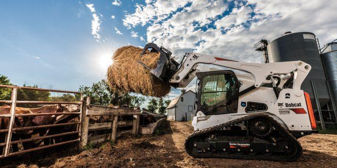 Bobcat presenta la nueva cargadora compacta de orugas T870