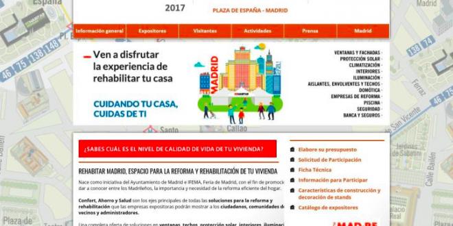 La Fundación Laboral de la Construcción participará en Rehabitar Madrid
